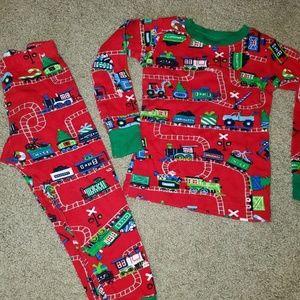 Hatley size 3 unisex pajamas